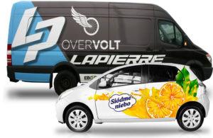 Реклама на авто, реклама на фургон